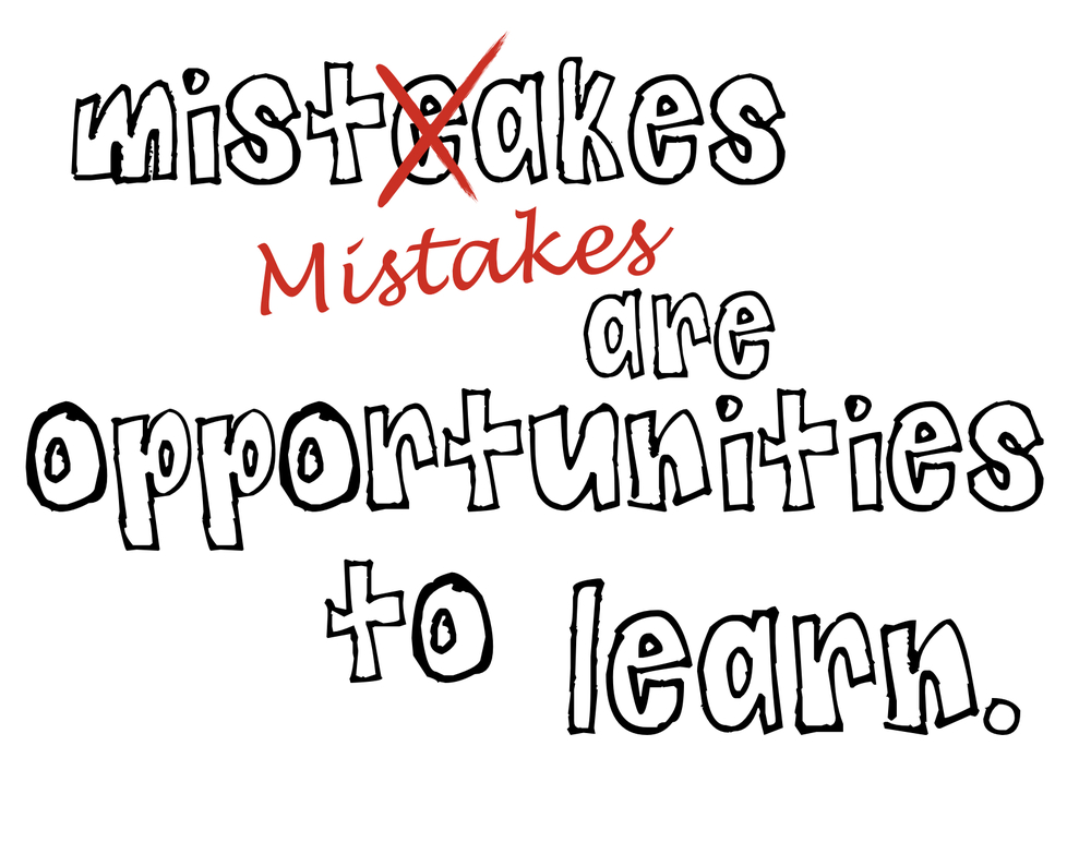 managing mistakes  a few considerations