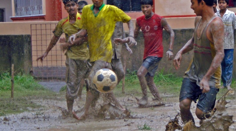 coaching rain football Himalayan