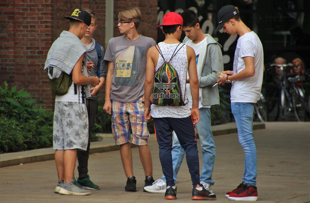 Candid pics of teen boys